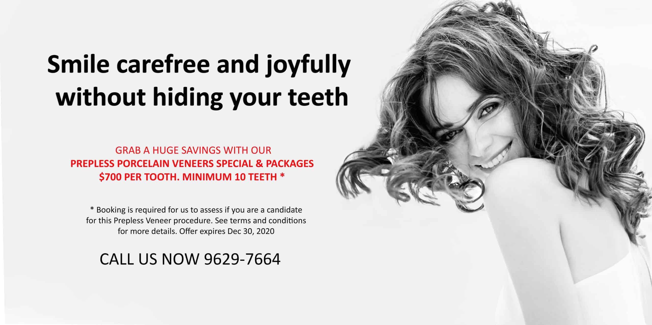 Dental Veneer Specials & Packages | Best Cosmetic Veneers Dentist