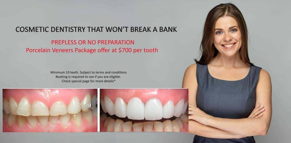 SPECIALS Melbourne's Best Dentist | Top Cosmetic Dentist Melbourne | SPECIAL OFFER Cosmetic Dentist Melbourne CBD